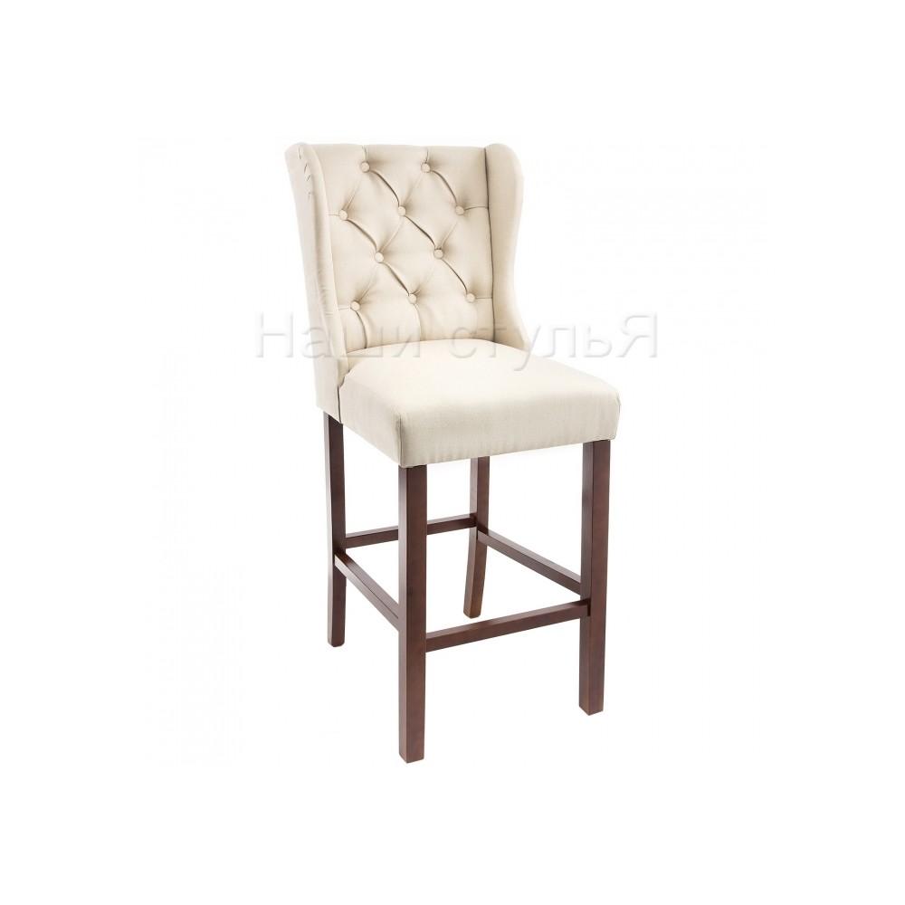 Барный стул Лутон (Luton) Орех/Бежевый