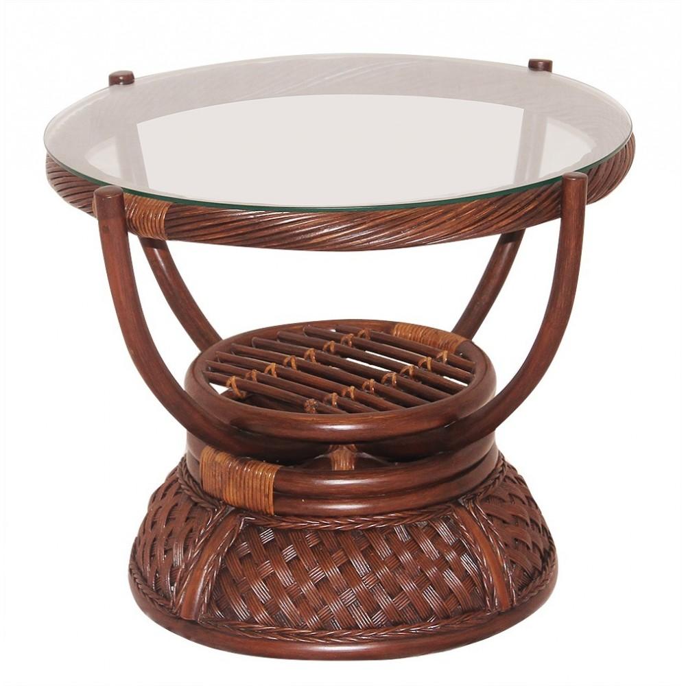 Стол кофейный Андреа (Andrea) античный орех — античный орех