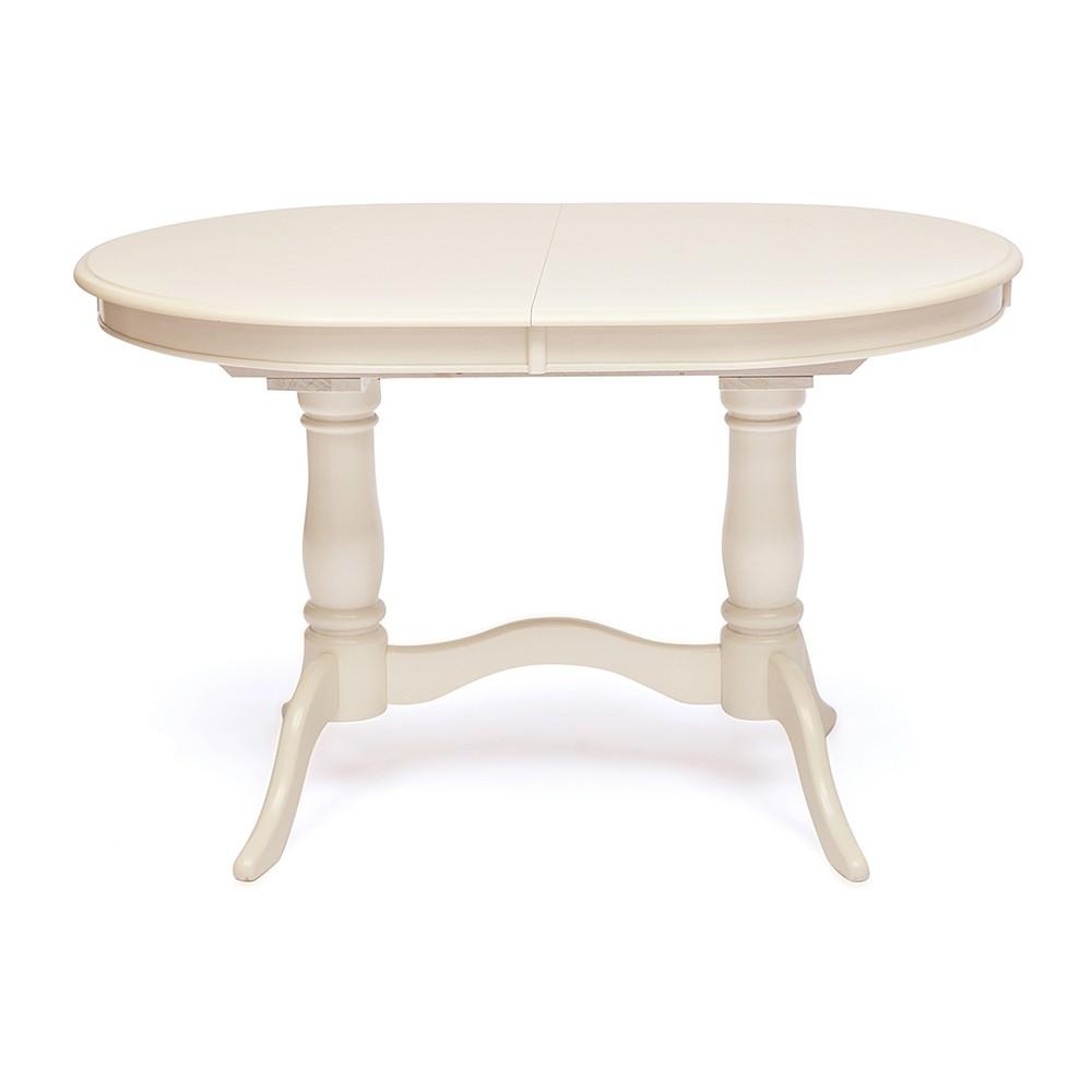 Стол обеденный Ева (Eva) Слоновая кость — Butter white (Светло кремовый)