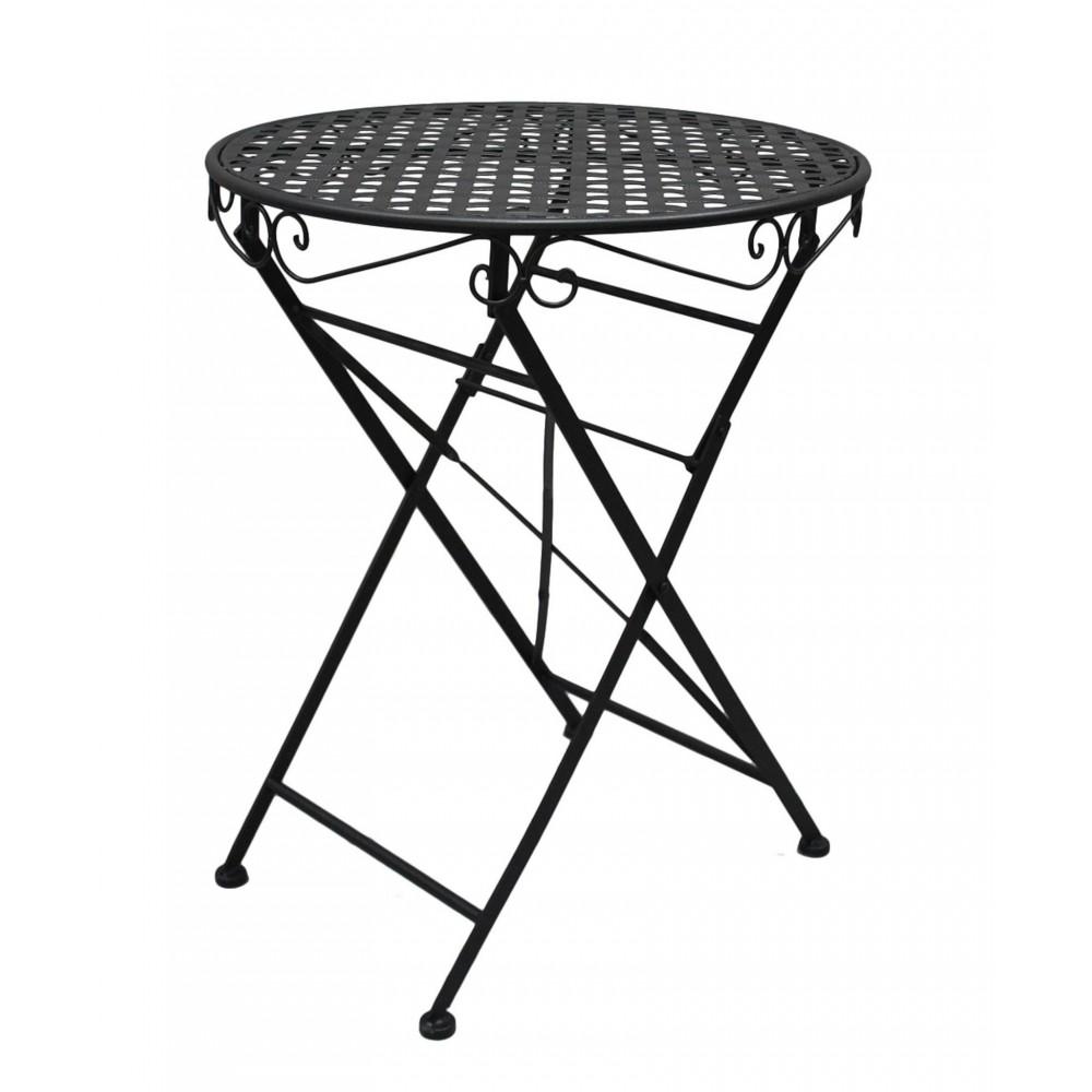 Стол складной кованый Патио (Patio) Черный — черный