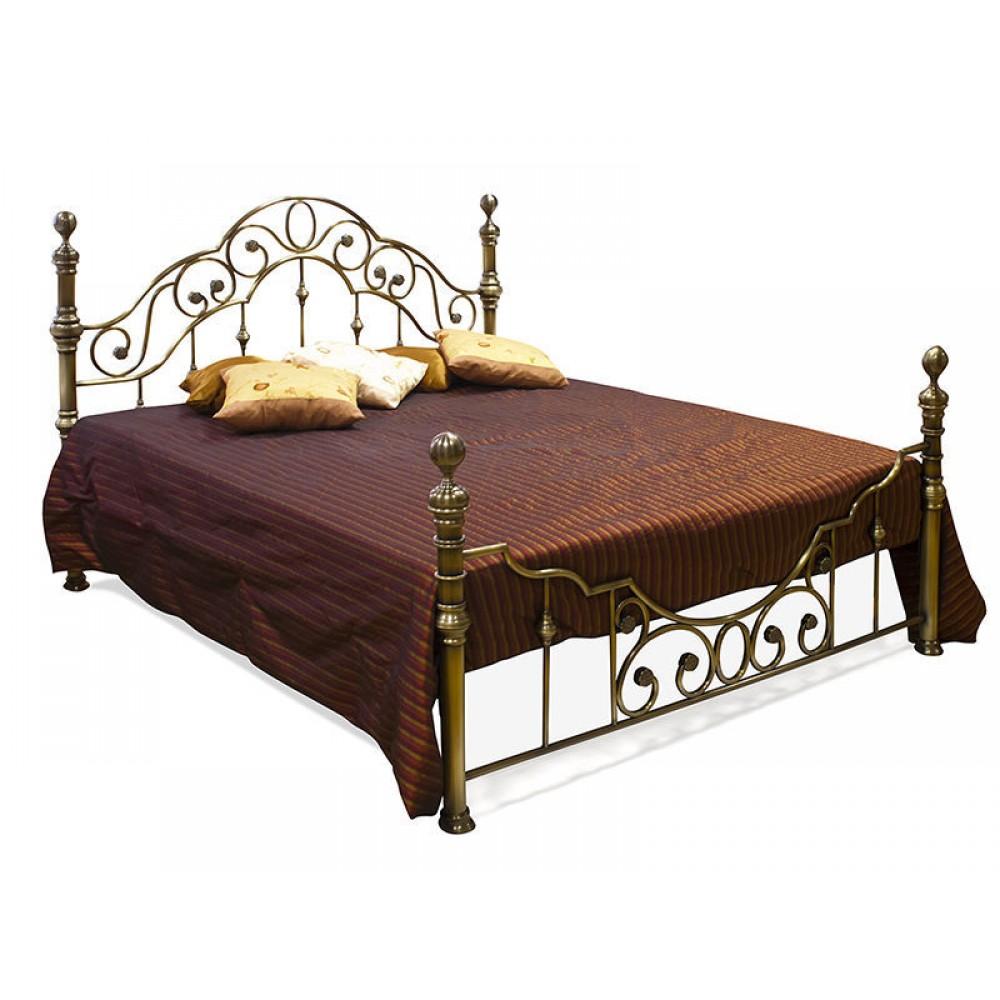 Кровать Виктория 200x180 (Victoria WF 9603) Античная медь