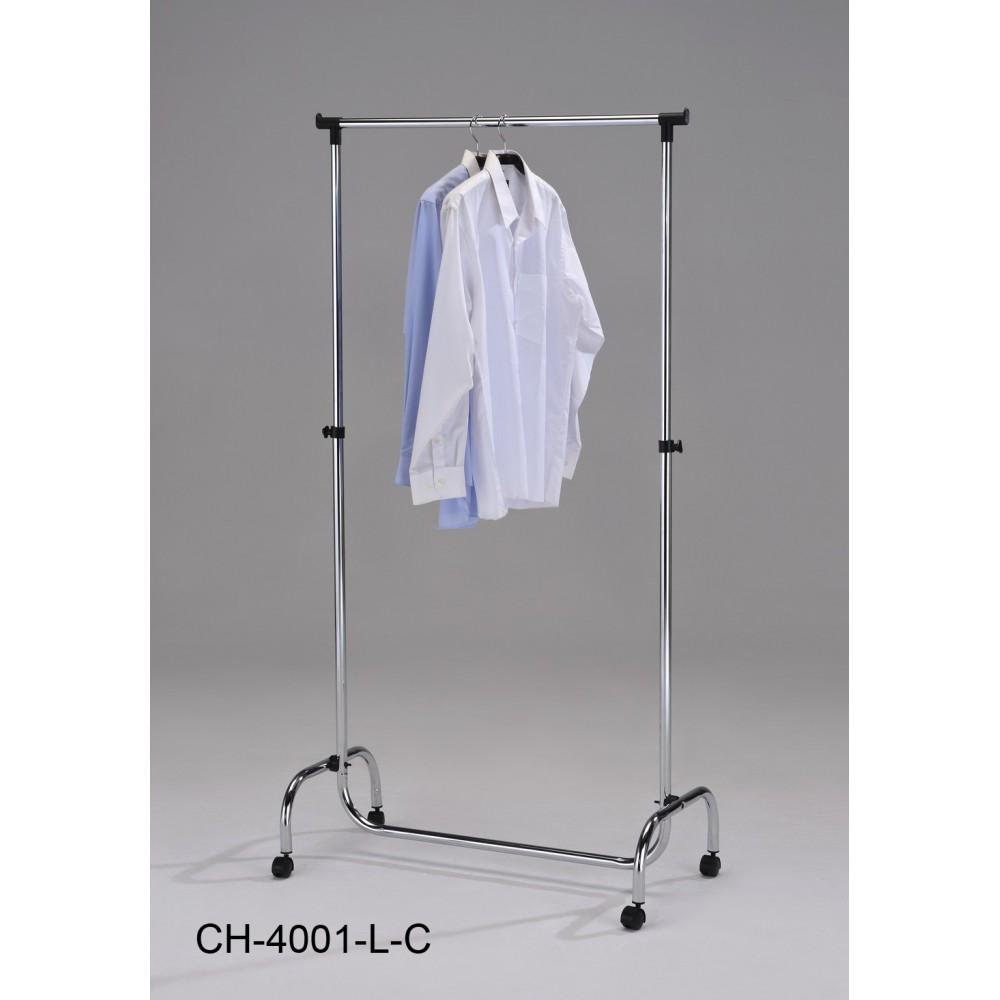Вешалка для гардеробных CH-4001-L-C (MK-2339) Хром