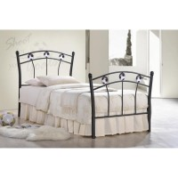 Кровать односпальная Мундиаль (Mundial) Черный — Черное