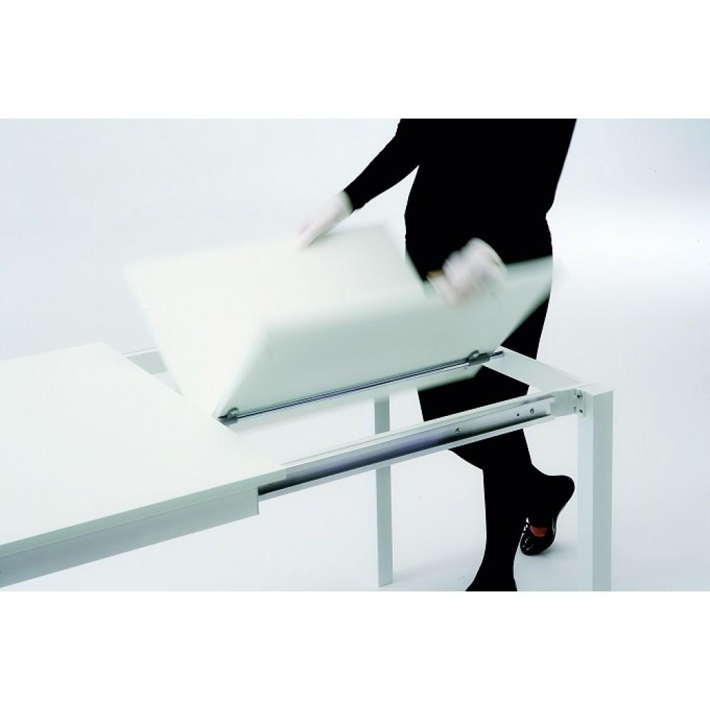 Стол MAGO (01.35) 120/180x80xН75 см (М089/M089/Top grey stone Uni D003+L072ал) — серый