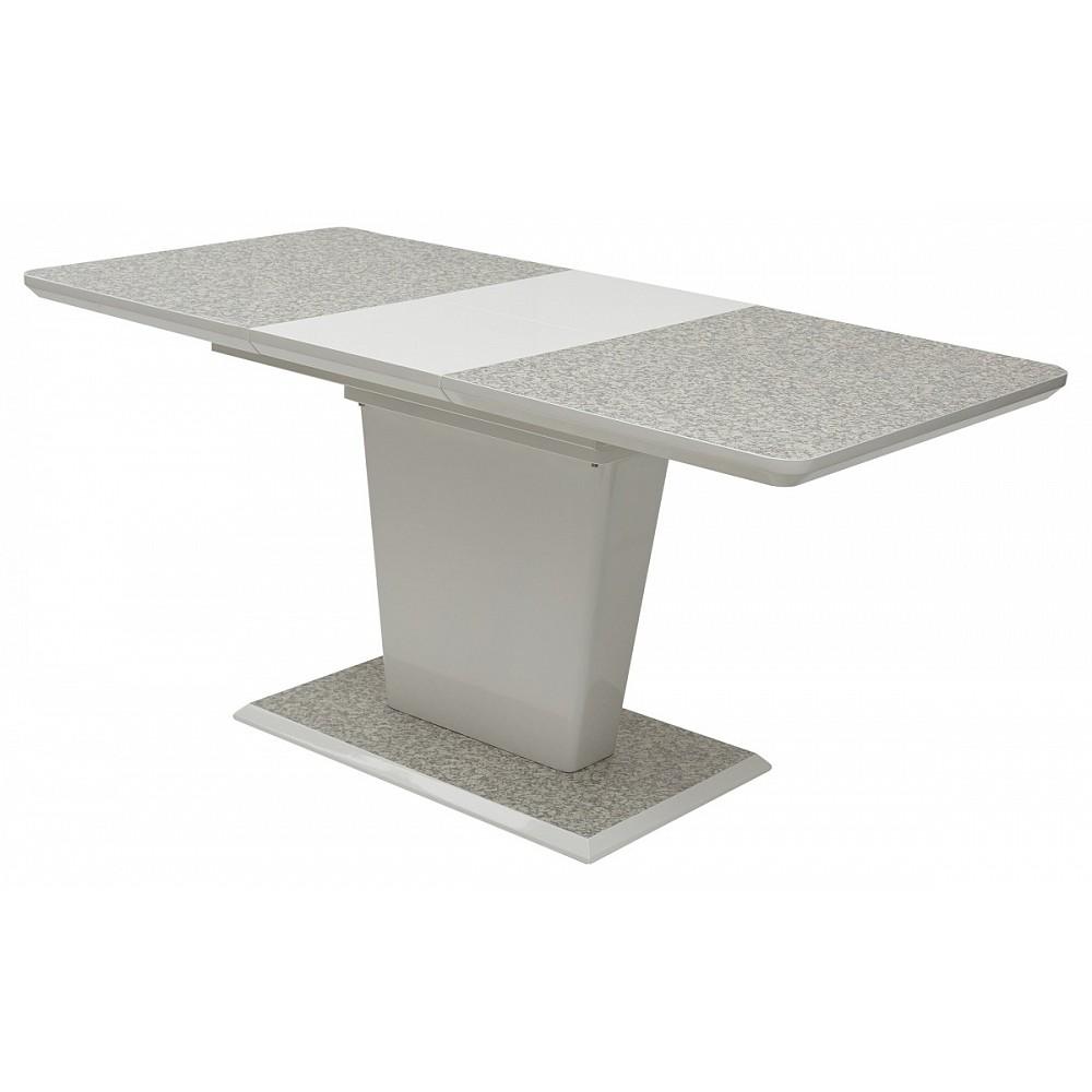 Стол TORIS 120 White 3808CD# / MDF-1# — серый