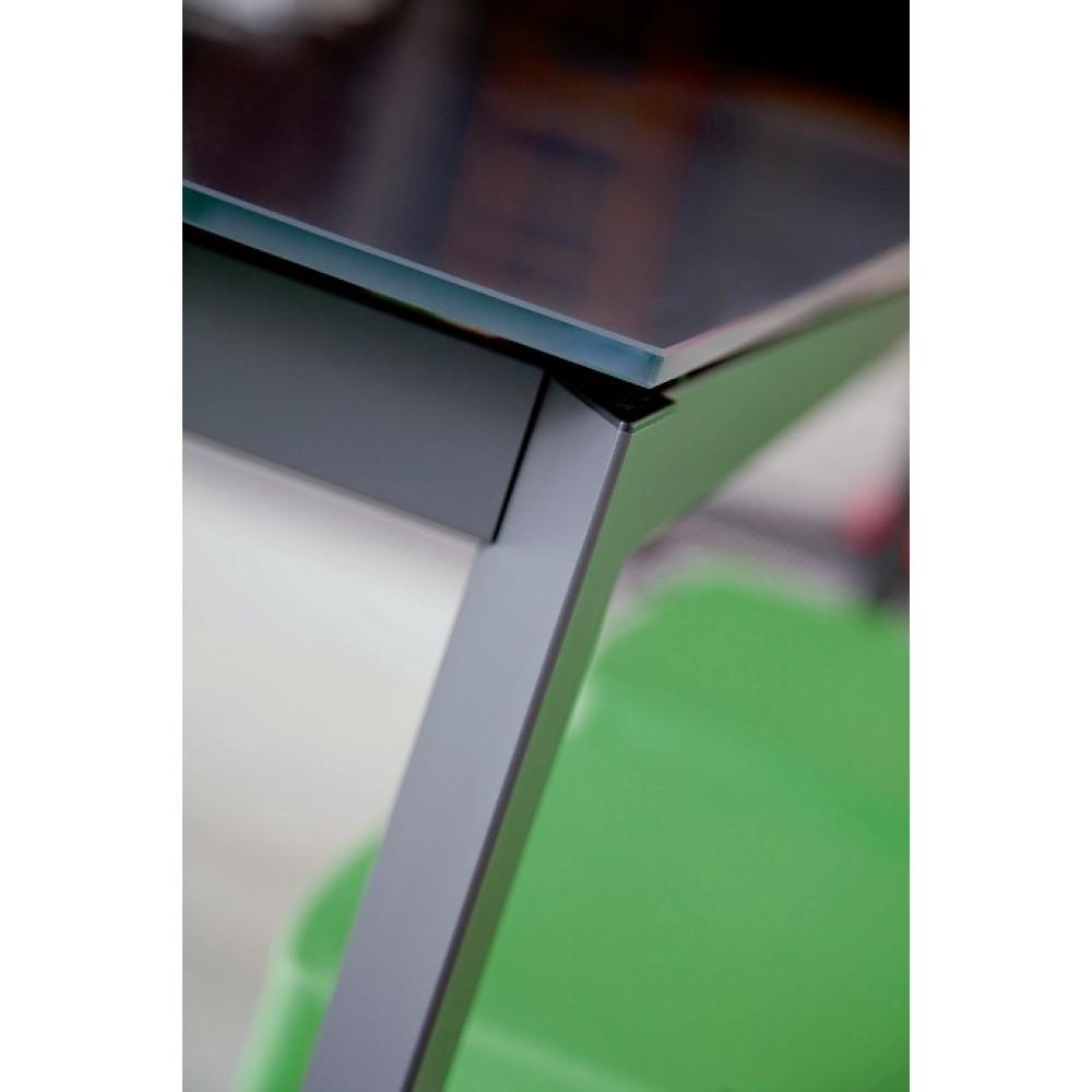 Стол PARIS (42,60) 160/220х90хН75 см (M310 / M310 / C196 TOP + L072 EXT) — серый