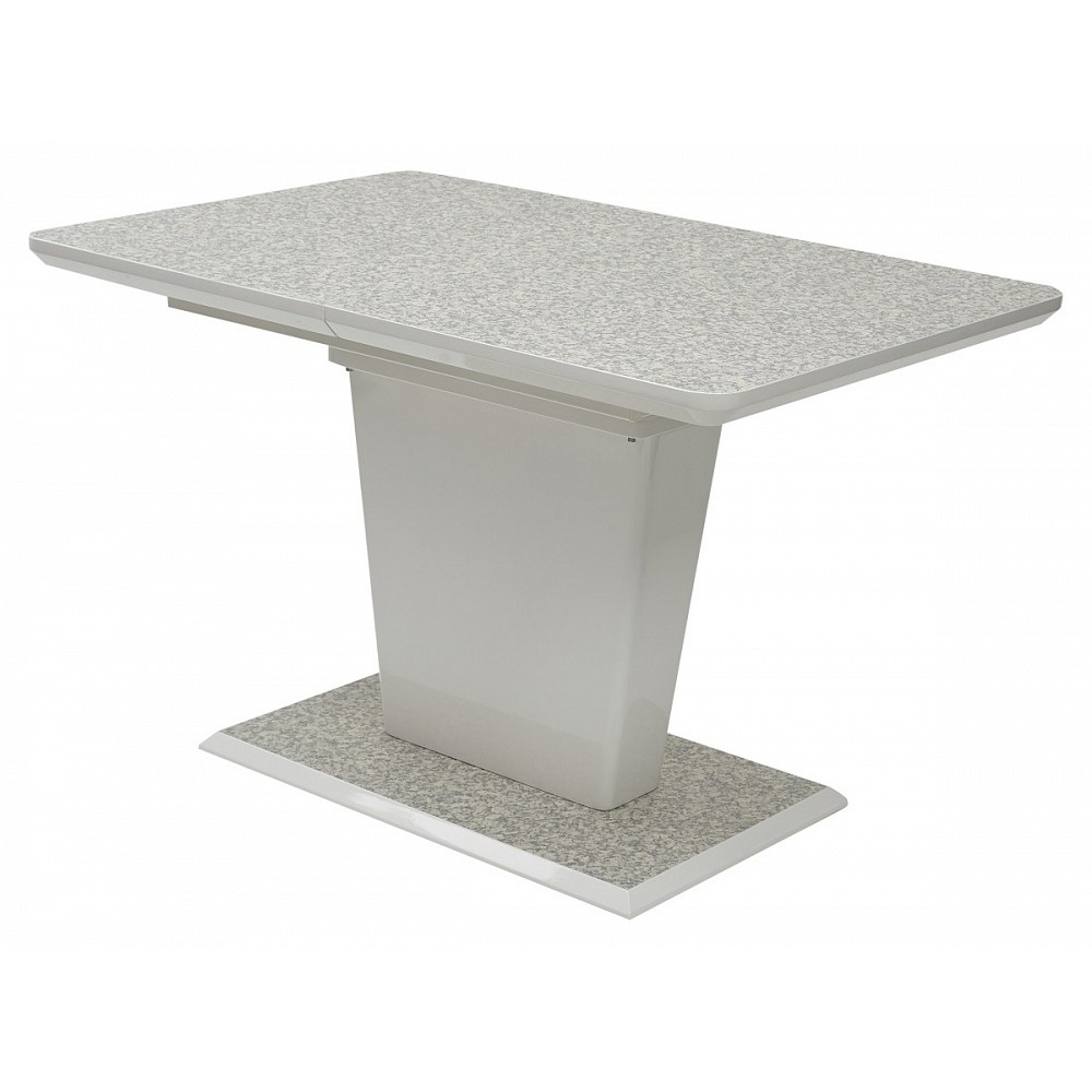 Стол TORIS 140 White 3808CD# / MDF-1# — серый
