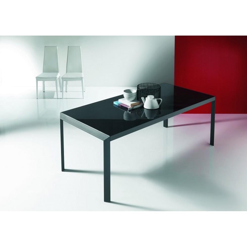 Стол IZAC (01.81)122/172x80xН75 см (М310/ M310/ D002/D002 графит дуба) — серый