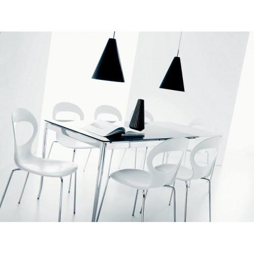 Стул PAPERIK 40.20 (М313 сер-кор/ Z030 сер-кор Rectylon) — серый