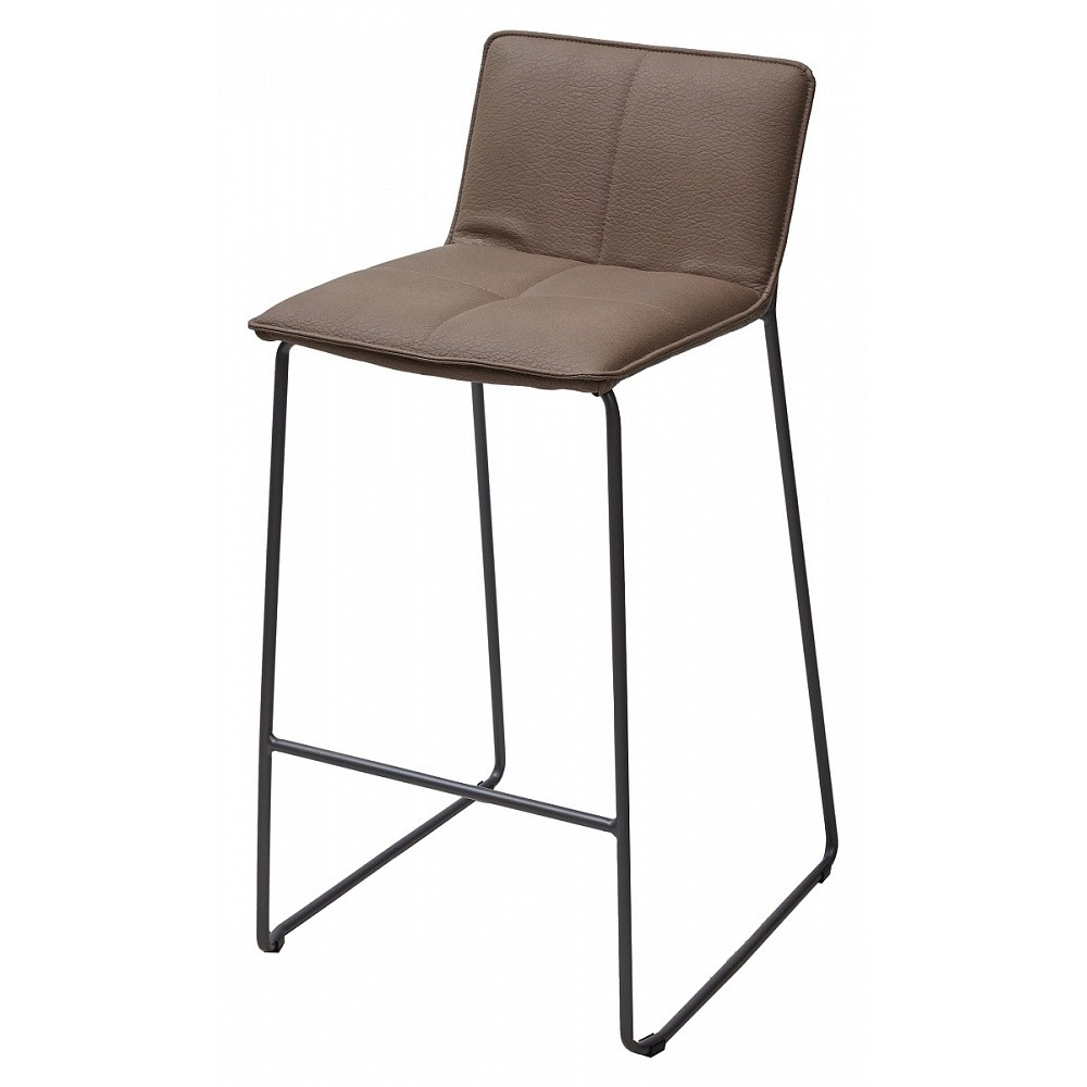 Барный стул WHISKEY PU 089-02 — коричневый