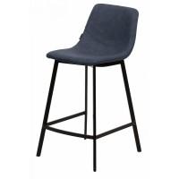 Барный стул HAMILTON RU-03 PU синяя сталь — синий