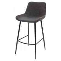 Барный стул BIARRITZ BAR GREY, ткань — серый