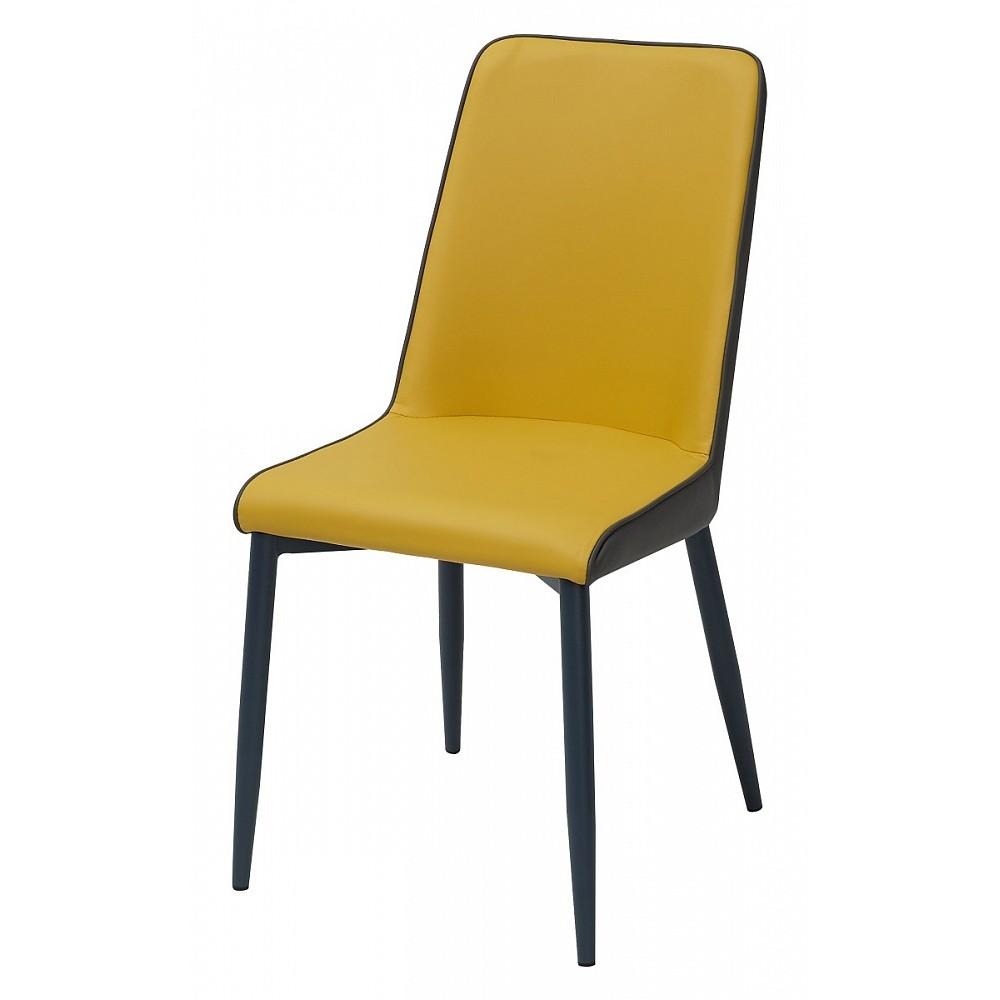 Стул SOFT yellow 643/grey 645 желтый/серый