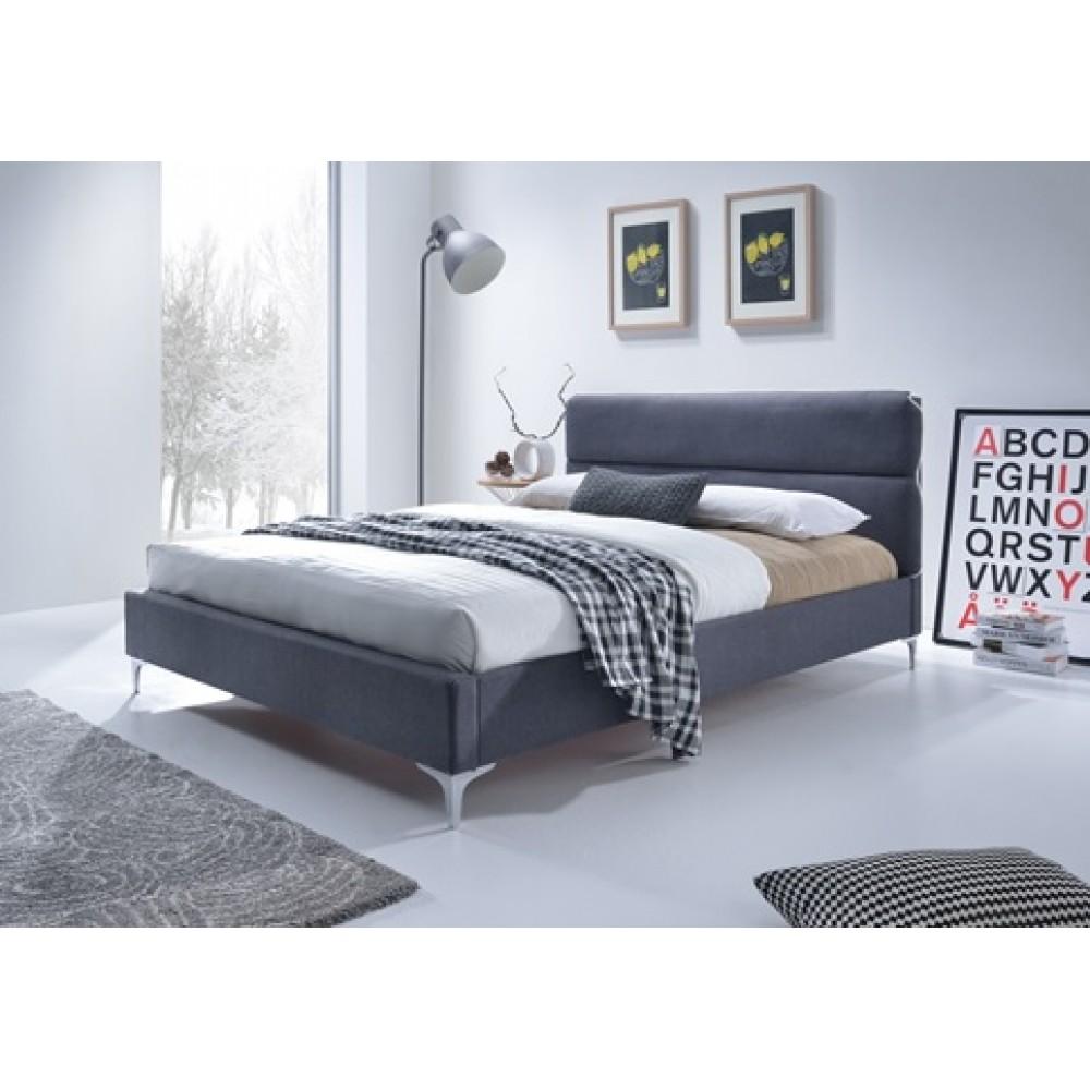 Кровать SWEET ELEVEN 160x200 Fabric Medium Grey — серый
