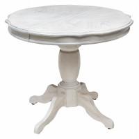 Стол GR FCDT-3654-MPP GR WHITE GRAY#1 — молочный