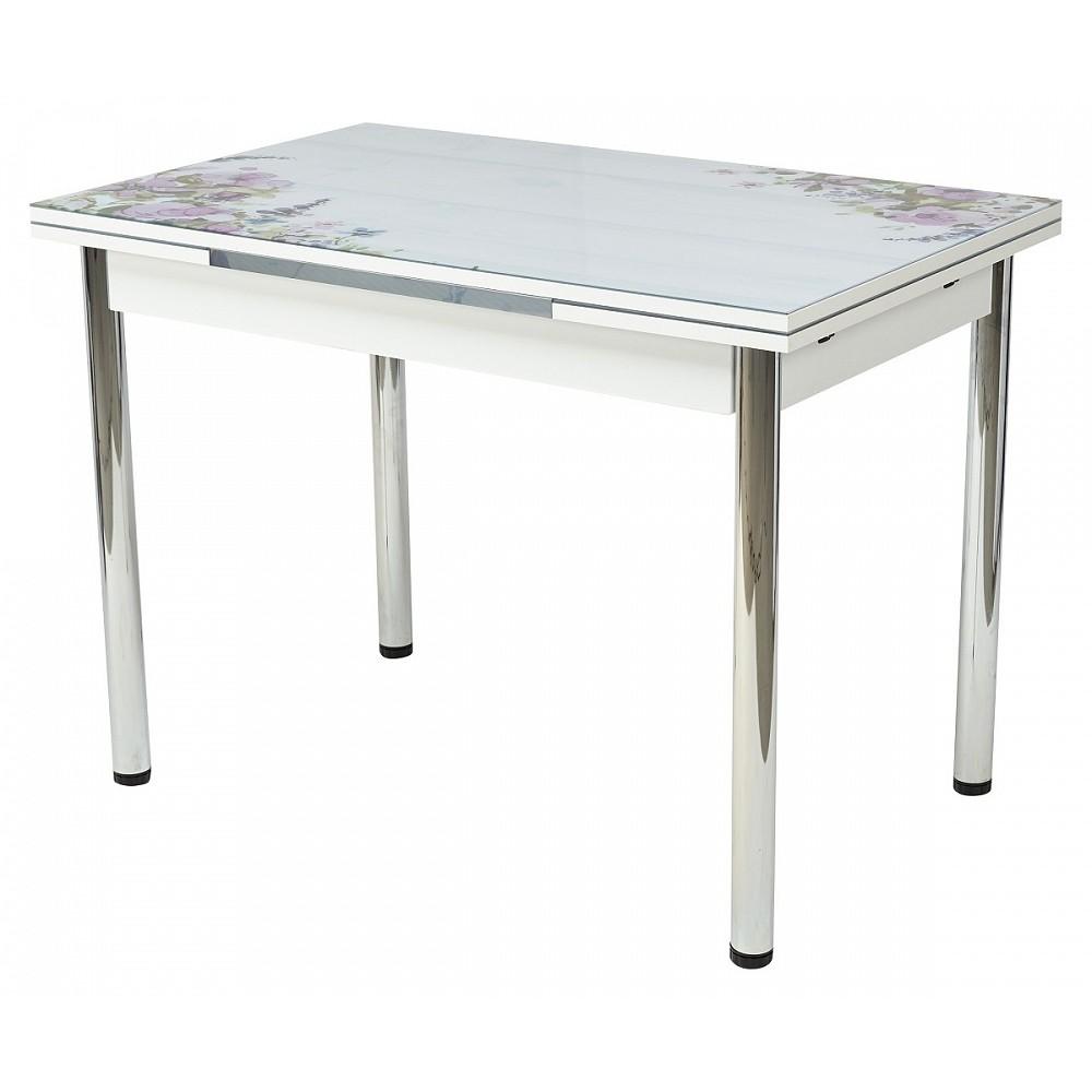 Стол 4001 BATIK PURPLE — белый