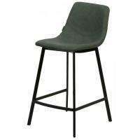 Барный стул HAMILTON RU-01 PU малахит — зеленый