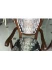 """Кресло """"809 A"""" с мягкой спинкой и сидением —  Brown (Темная вишня) (MK-1344-DB)"""
