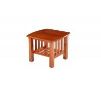 Журнальный столик квадратный —  Темный орех (MK-2605-DO)
