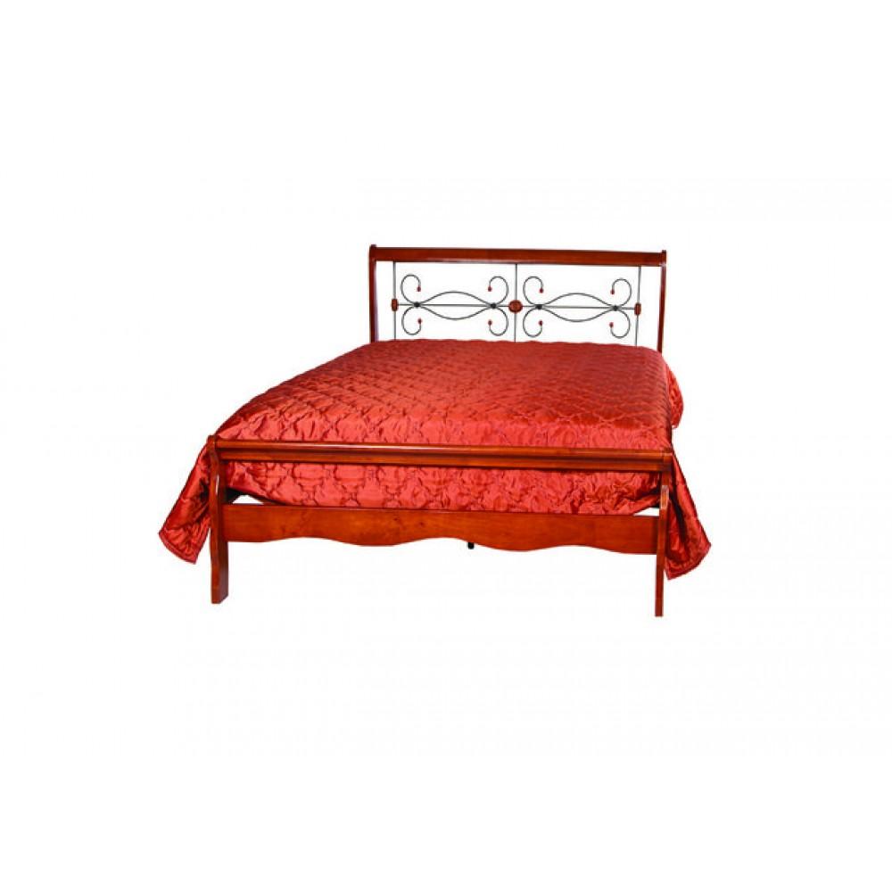 Кровать АТ-9077 L Темная вишня