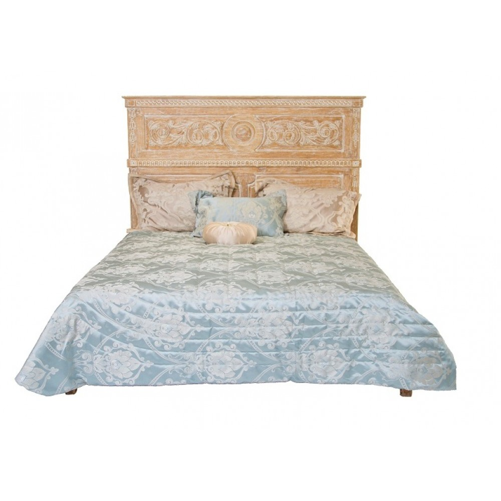 "Кровать ""Каталина (Catalan) 205х165х150 (MK-3292-CE)"" —  Античный бежевый"