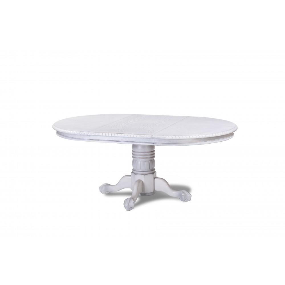 Стол HNDT - 4872 SWC — Античный белый с патиной (MK-1105-WS)