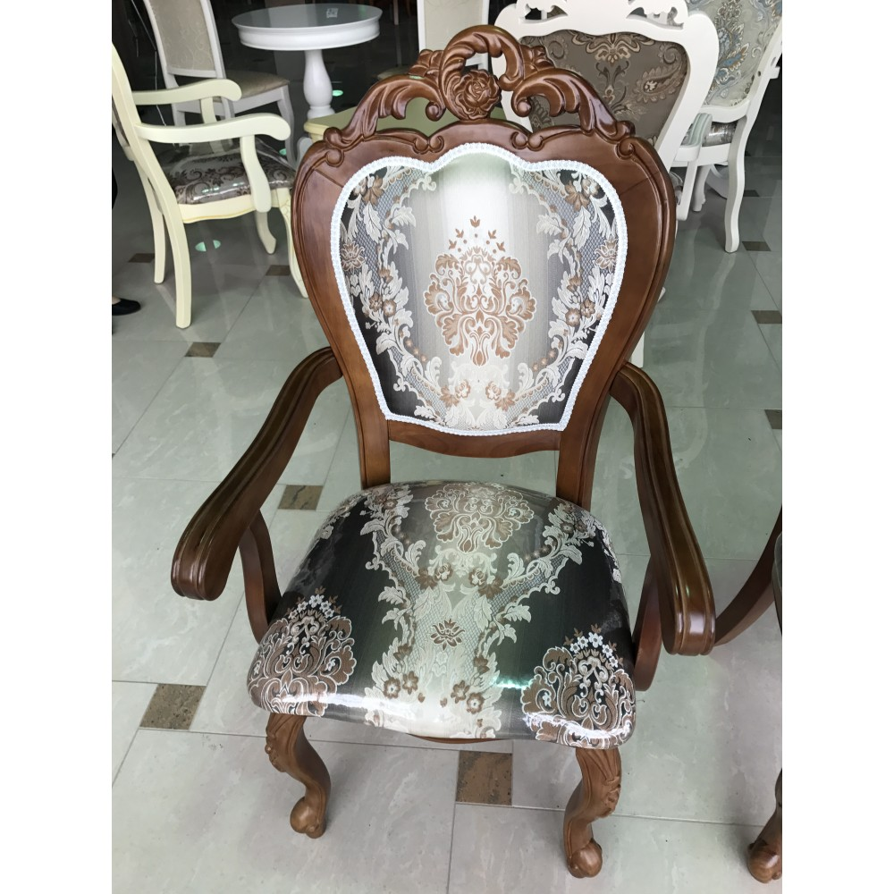 """Кресло """"809"""" с мягкой спинкой и сидением —  Светлый орех (MK-1344-HG)"""