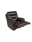 "Кресло реклайнер ""MK-4705-BRL"" —  Тёмно-коричневый"