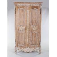 "Шкаф 2-х дверный ""Версаль (Versaille)"" —  Античный бежевый (MK-2513-AB)"