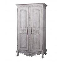 """Шкаф 2-х дверный """"Версаль (Versaille)"""" —  Античный серый (MK-2513-AG)"""