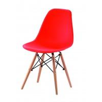 """Стул """"Мобил (Mobil)"""" пластиковый —  Красный (MK-4323-RD)"""