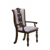 """Кресло """"Гелиос (ELISSA)"""" с мягким сиденьем и спинкой —  Light Walnut (Темный орех) (MK-4525-LW)"""