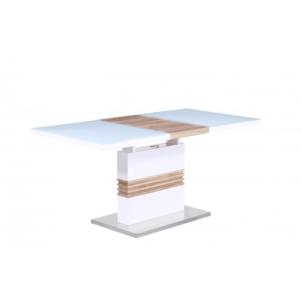 """Стол """"MK-5800-WT"""" прямоугольный раскладной —  Белый"""