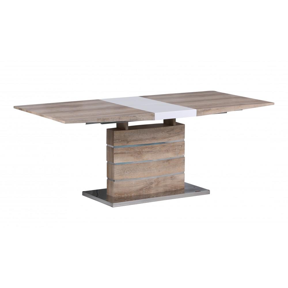 """Стол """"MK-5802-WD"""" прямоугольный раскладной —  Натуральное дерево"""