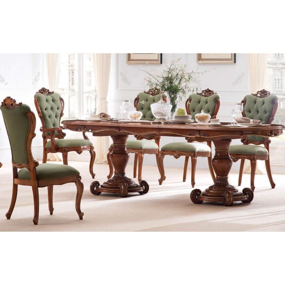"""Кресло со стяжками на спинке """"Лоранс (Lorans)"""" —  Карамельный дуб (MK-5436-СO)"""