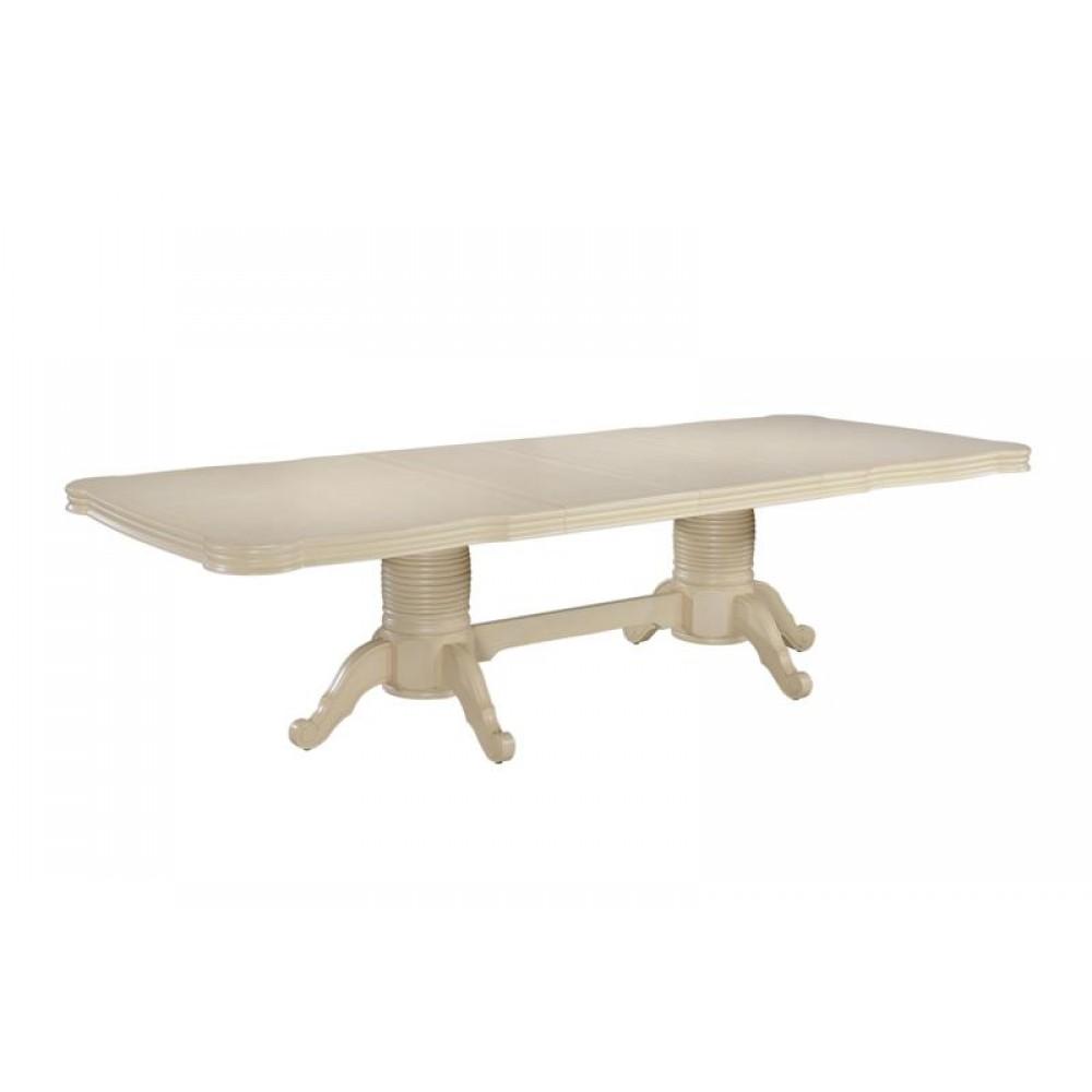 """Стол """"Кронос (KRONOS)"""" прямоугольный раскладной —  Ivory (Кремовый) (MK-4502-IV)"""