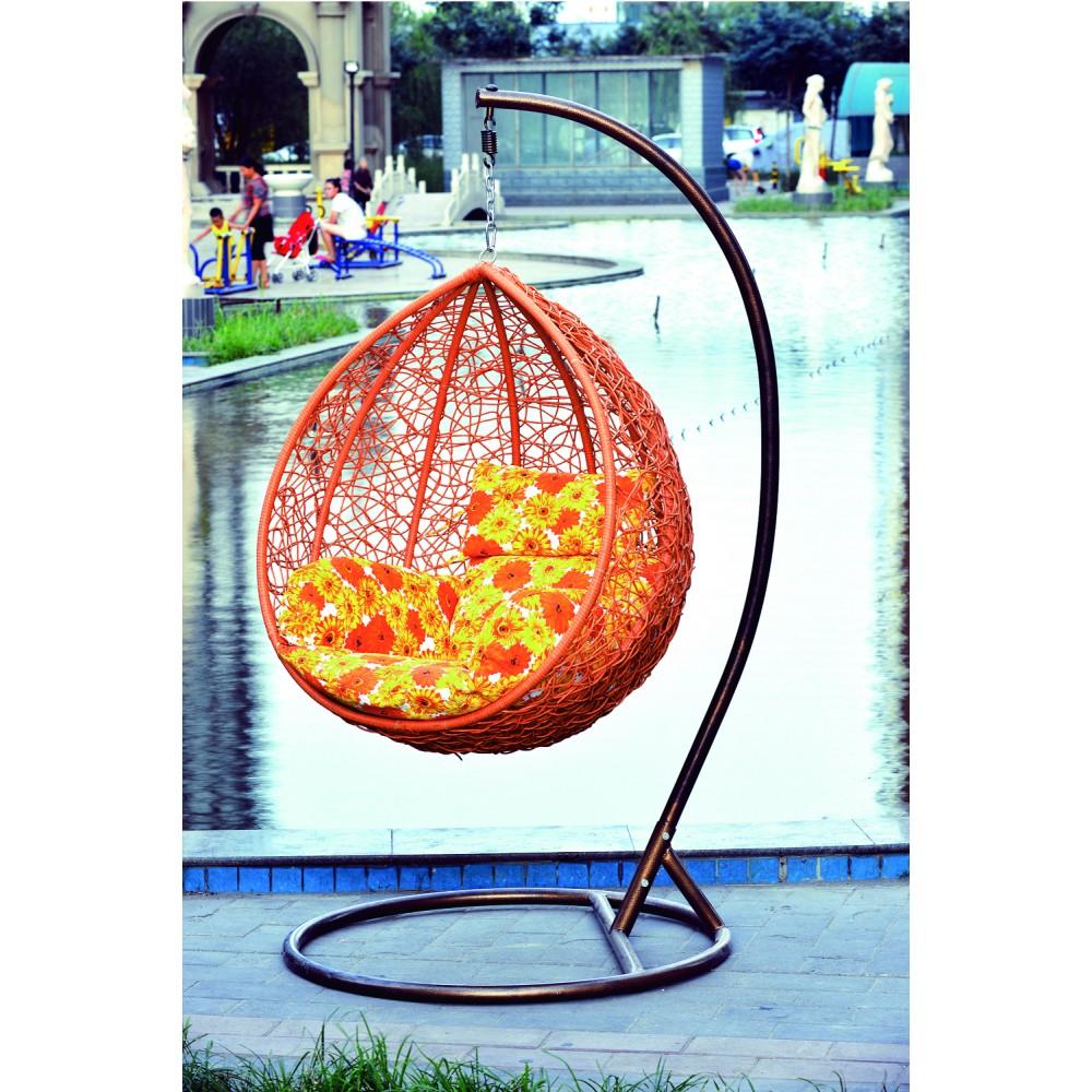 Подвисная корзина N936, цвет - оранжевый (105*120*200) см —  Оранжевый  (MK-3633-OR)
