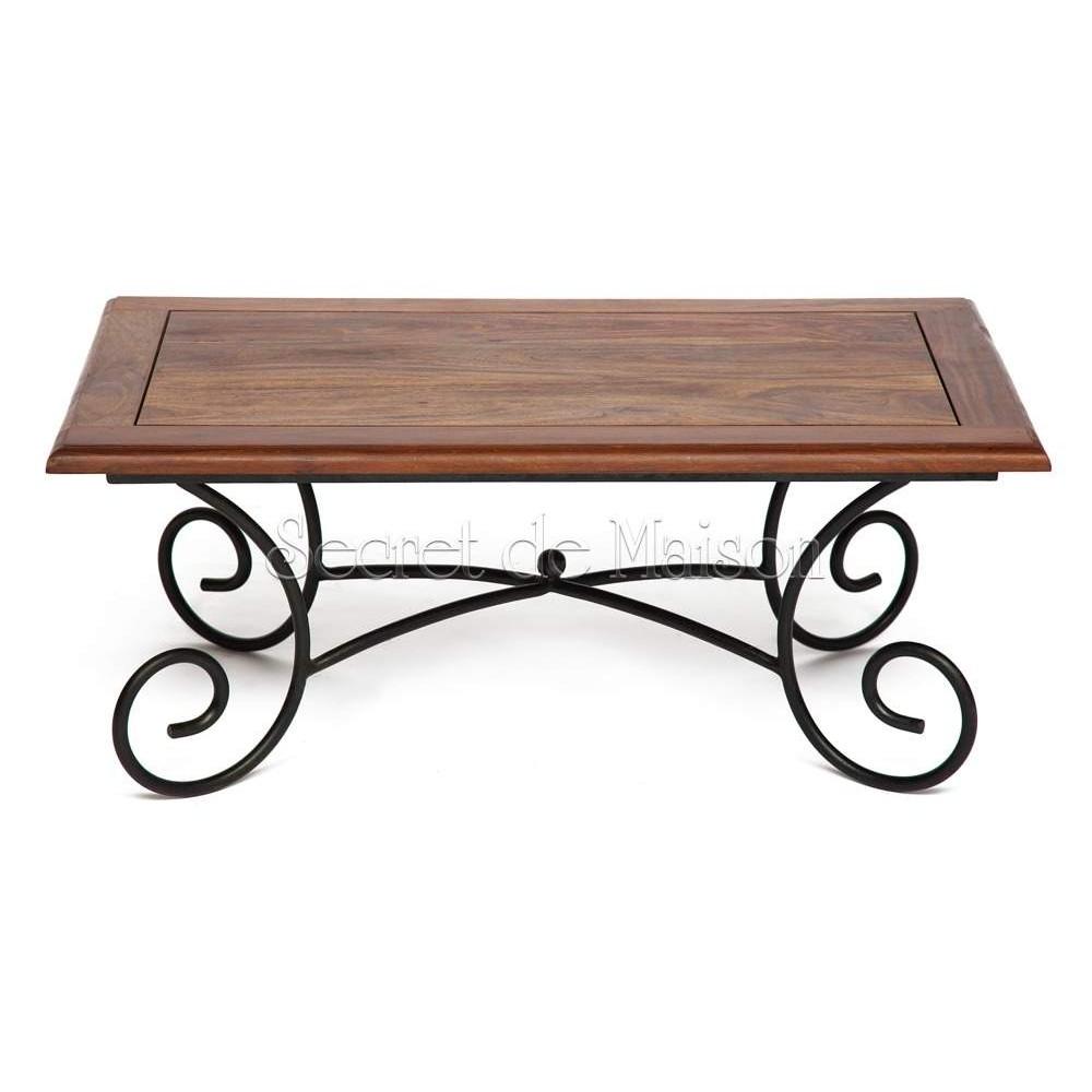 Кофейный столик Secret De Maison Люберион (Luberon) (mod 6) — дерево палисандр/металл