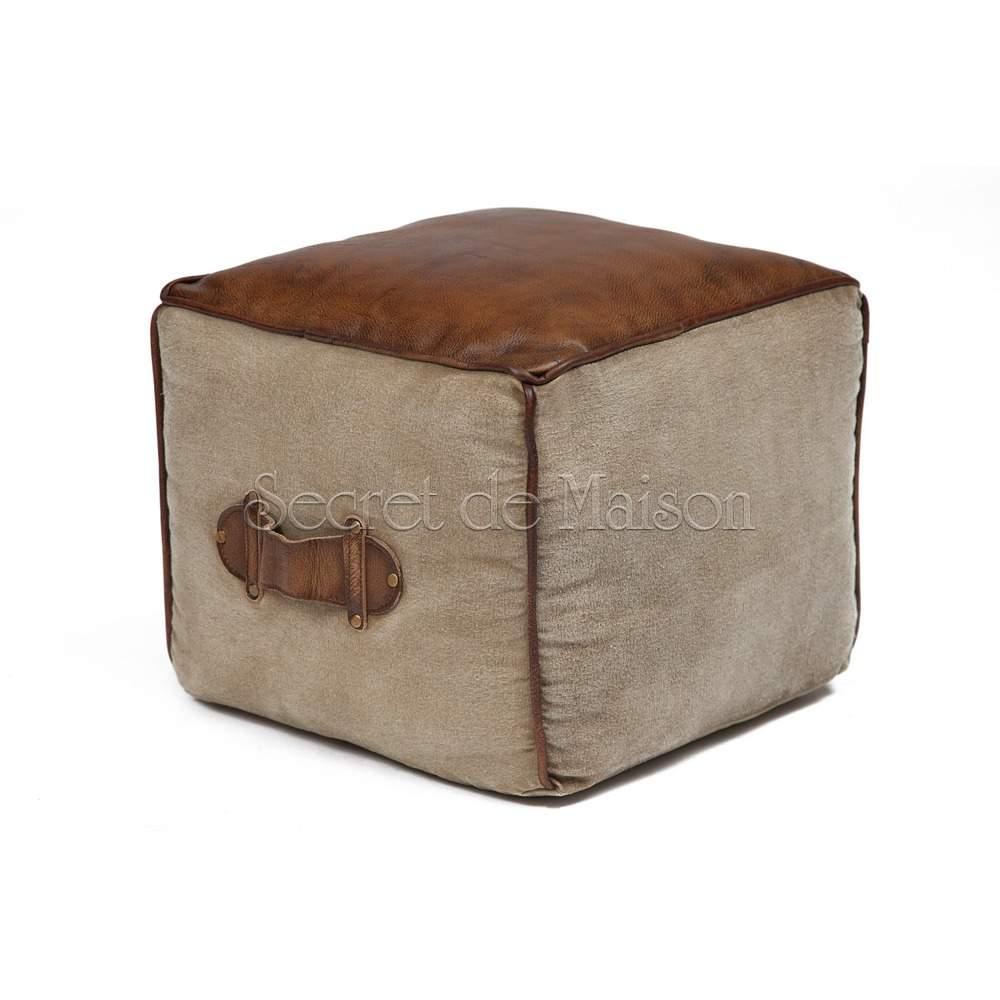 Пуф Secret De Maison Боксер (BOXER) ( mod. M-12765 ) — коричневый