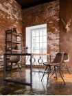 Стол обеденный Secret De Maison Сити (CITY) ( mod. CTY D04-110*70 ) — коричневый дым (smoke brown B034)