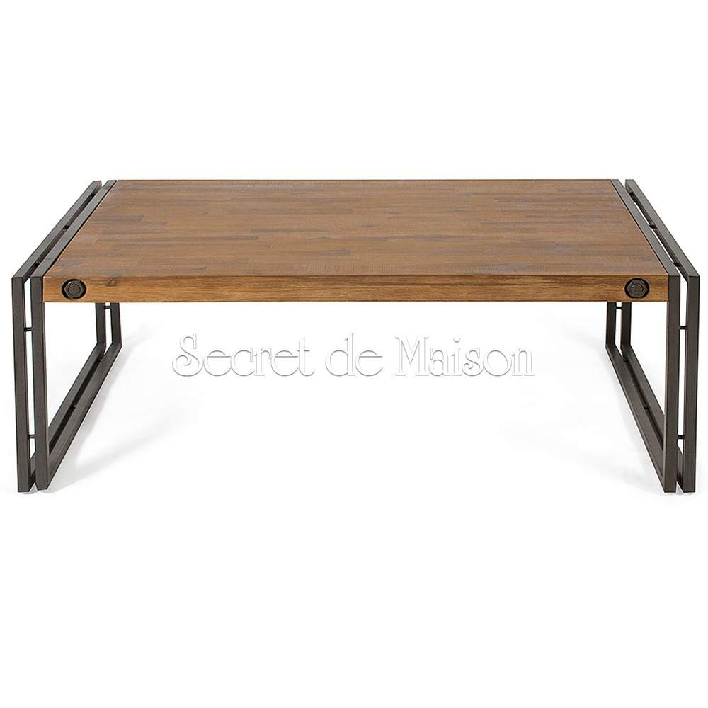 Стол кофейный Secret De Maison Сити (CITY) ( mod. CTY L11 ) — коричневый дым (smoke brown B034)