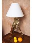 Настольная лампа на треноге # 46139 BW — Античная медь (Antique Brass)