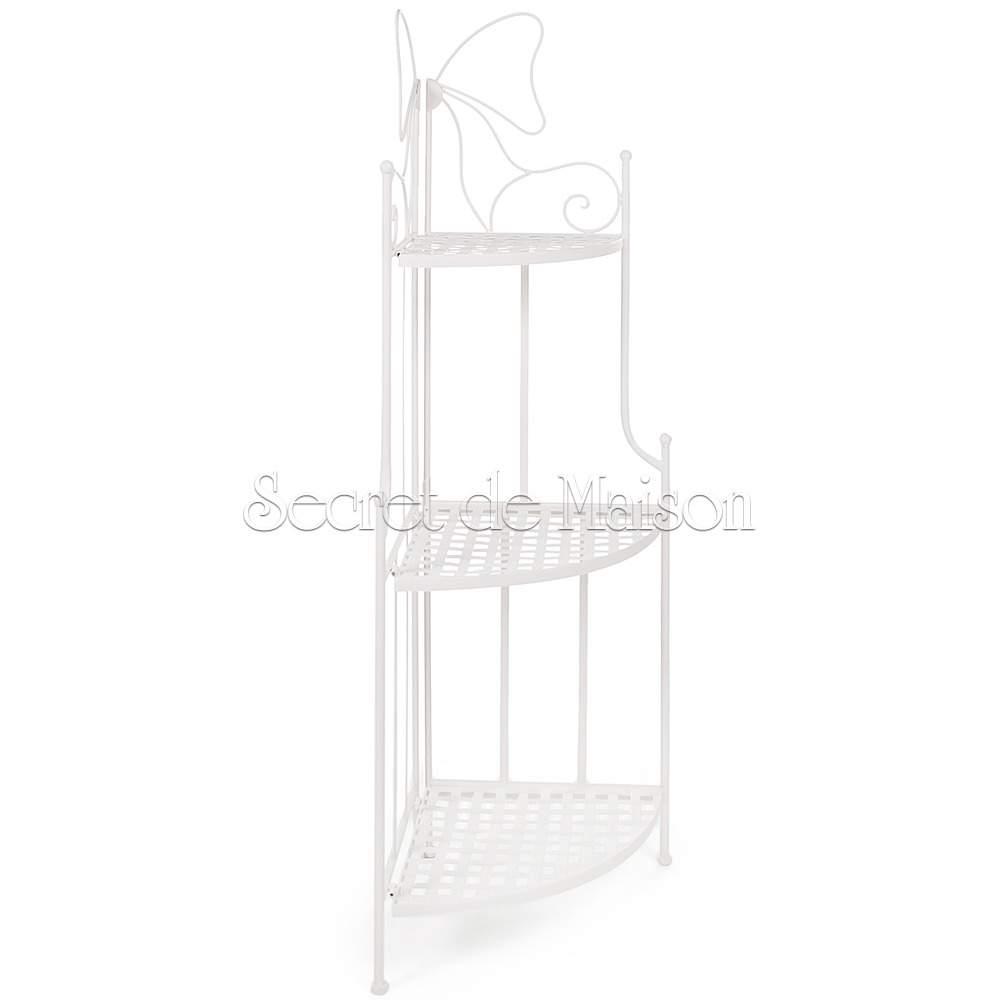 Этажерка угловая Secret De Maison 003 (Белый) — Белый