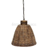 Лампа плетеная Secret De Maison Гавана (GAVANA) ( mod. M-8100 ) — натуральный (natural) / медь