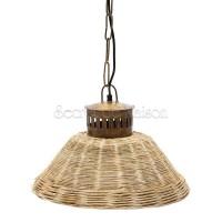 Лампа плетеная Secret De Maison Ель (ELLY) ( mod. M-8103 ) — натуральный (natural) / медь