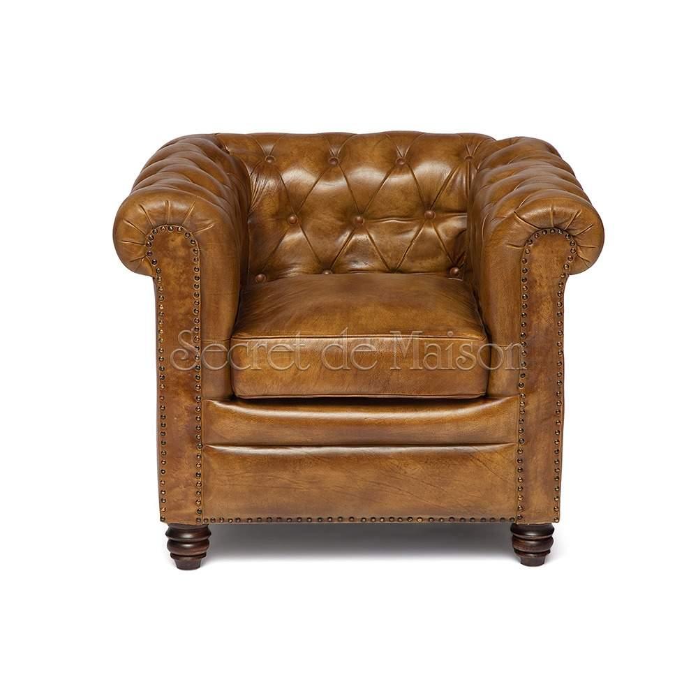 Кресло Secret De Maison Честер (CHESTER) ( mod. 1157B ) — Античный светлый