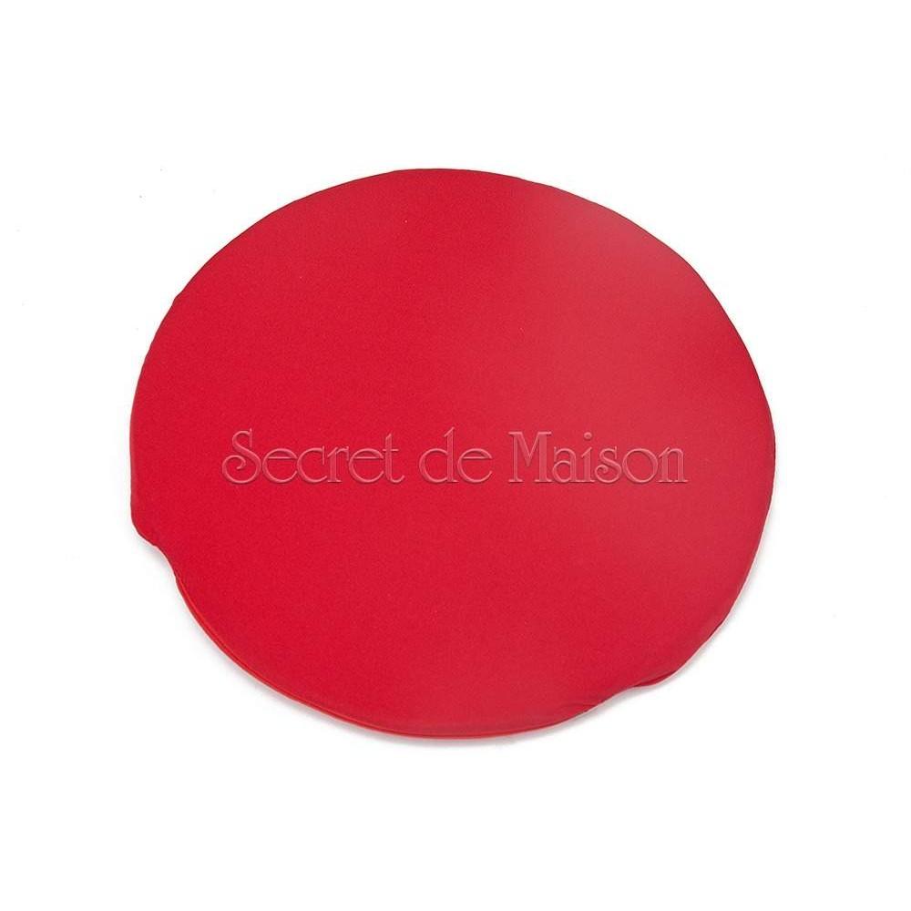 Подушка на стул Моцарт (Mozart) Красный — Красный