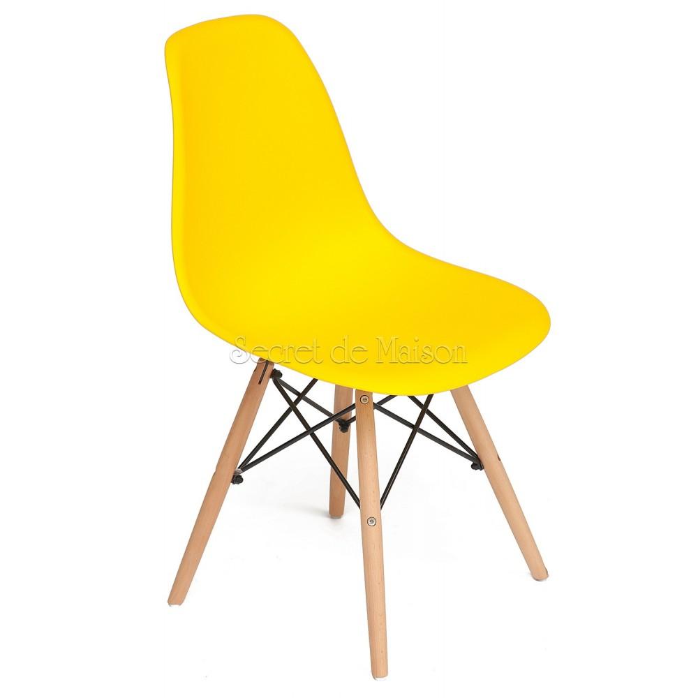 Стул Secret De Maison Синди (CINDY) (EAMES) (mod. 001) — желтый/yellow