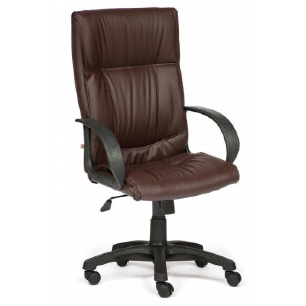 Кресло компьютерное Давос (Davos) — коричневый (36-36)
