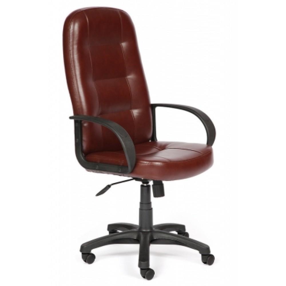 Кресло компьютерное Дэвон (Devon) — коричневый (2 TONE)